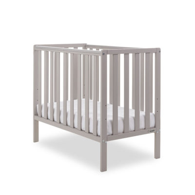 Obaby Bantam Space Saver Cot - Warm Grey