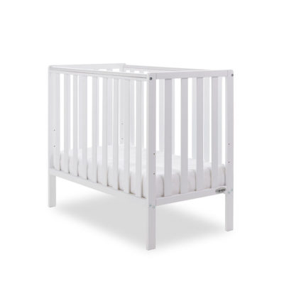 Obaby Bantam Space Saver Cot - White