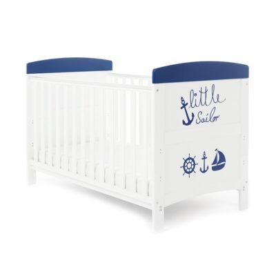 Obaby Grace Inspire Cot Bed - Little Sailor