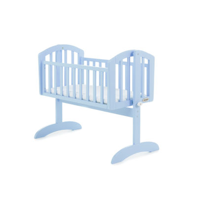 Obaby Sophie Swinging Crib - Bonbon Blue