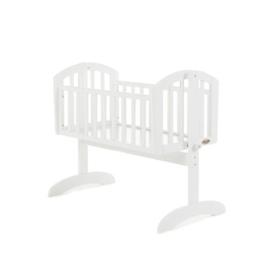 Obaby Sophie Swining Crib - White