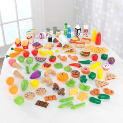 Kidkraft Deluxe Tasty Treat Pretend Play Food Set