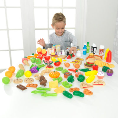 Kidkraft Deluxe Tasty Treat Pretend Play Food Set2