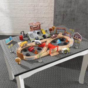 Kidkraft-Disney®-Pixar-Cars-3-50-Piece-Thunder-Hollow-Track-Set