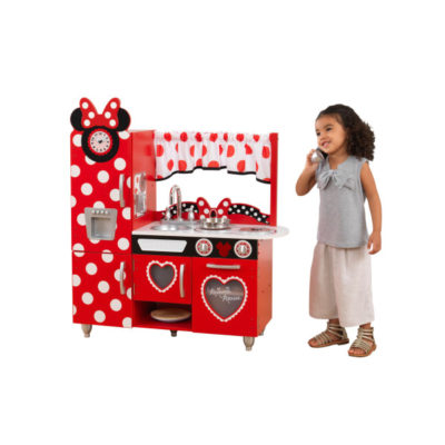 Kidkraft Jr. Minnie Mouse Vintage Play Kitchen1