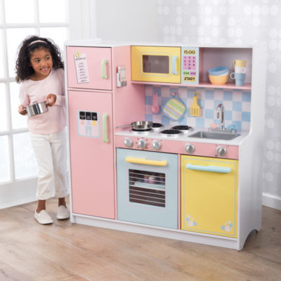 Kidkraft Large Pastel Kitchen2