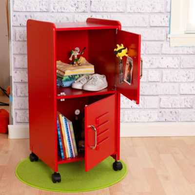 Kidkraft Medium Locker - red2