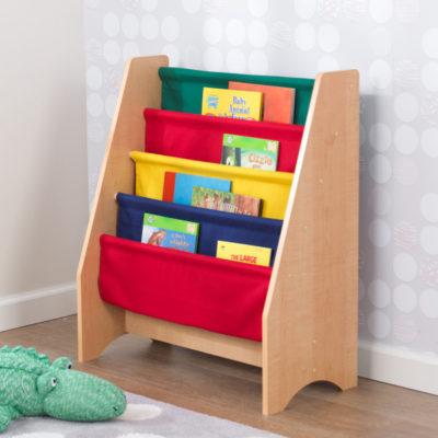 Kidkraft Primary Sling Bookshelf
