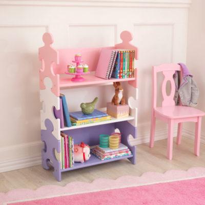 Kidkraft Puzzle Bookshelf - Pastel