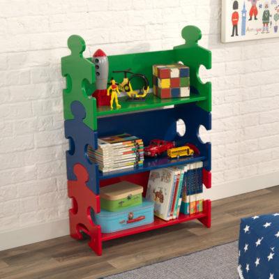 Kidkraft Puzzle Bookshelf - Primary