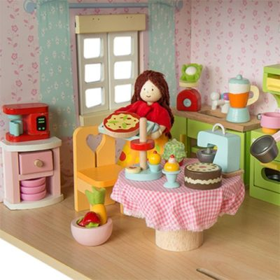 Le Toy Van Doll House Tea-Time Kitchen Accessory Pack 2