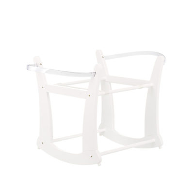 Obaby Rocking Moses Basket Stand - White