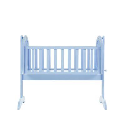 Obaby Sophie Swinging Crib and Mattress - Bonbon Blue