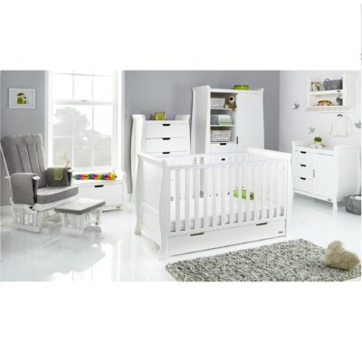 Obaby Stamford Clic 7 Piece Room Set White