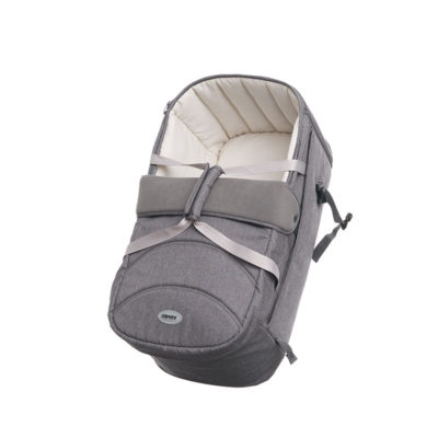 Obaby Zeal Carrycot - Grey