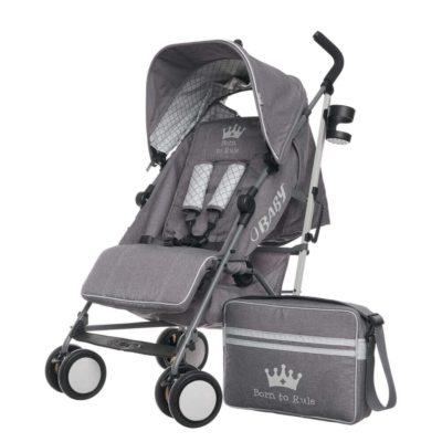 Obaby Zeal Stroller Bundle - Born to Rule 2