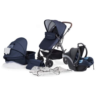 Kinderkraft Moov 3 in 1 Travel System - Navy