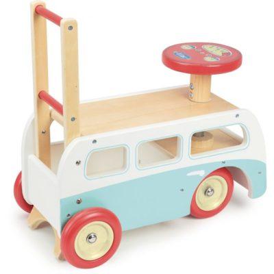 Hippychick Vilac 2 in 1 Retro Wooden Camper Van