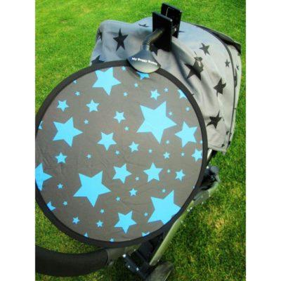 My Buggy Buddy Sun Shade Blue Stars