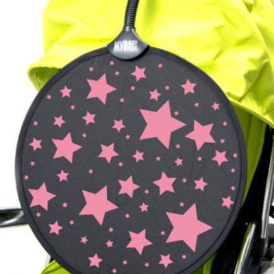 My Buggy Buddy Sun Shade Pink Stars