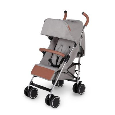 Ickle Bubba Discover Stroller Grey on Silver Frame