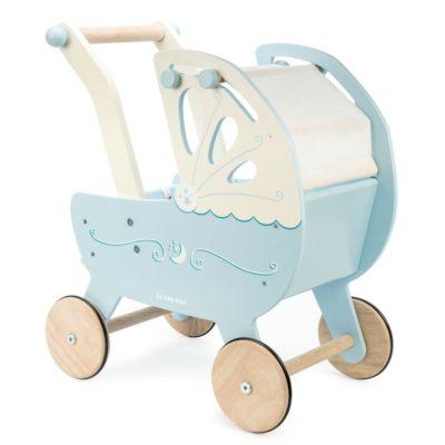 Le Toy Van Honeybake Moonlight Pram - Blue