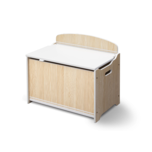 Delta Children Natural Toy Box