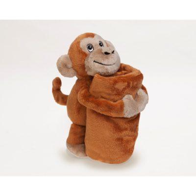 bobo buddies monkey blankie