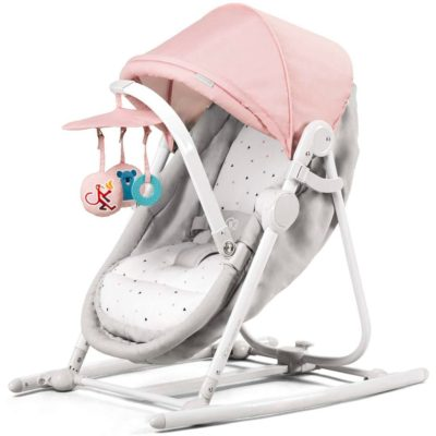 Kinderkraft Unimo 5 in 1 Cradle - Pink