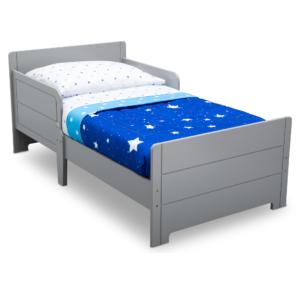 Delta-Children-Grey-Toddler-bed