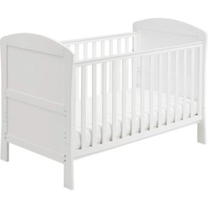 Babymore-aston-dropside-cot-bed-in-white