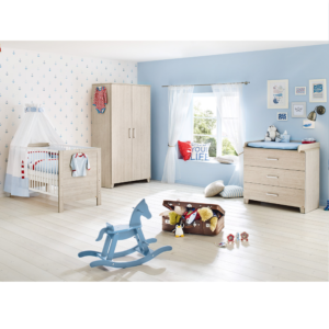 Pinolino Bolero 3 Piece Nursery Room Set with Mattress