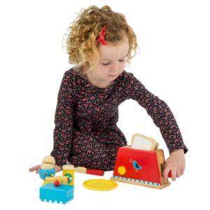 Tender Leaf Toys Toaster and Egg Set1